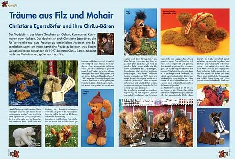 "Article ""Dreams from felt and mohair"